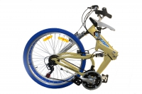 RJ26A Cream Color folded bike