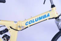 RJ26A Cream Color Columba Logo