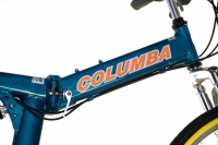 RJ26A Folding Bike Columba Logo