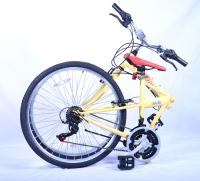 Columba Folding Bike Folded