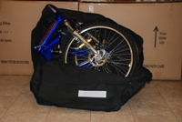 Columba folding bike in a bag