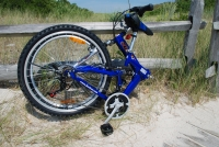 Columba RJ26A Folding Bike Folded