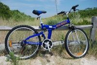 Columba RJ26A Folding Bike Blue