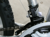 folding bike front derailleur