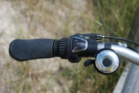 folding bike left handle