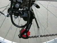 Columba folding bike rear derailleur