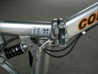folding bike frame quick release unlocked