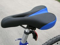 folding bike saddle