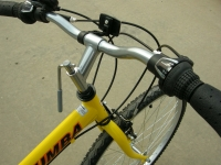 folding bike handle bar quick release