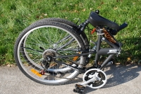 folding bike side view 1